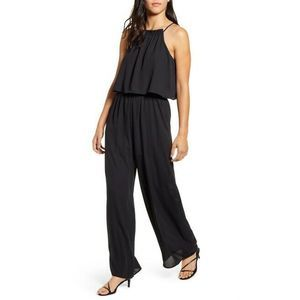 Gibson x Living in Yellow Wide Leg Jumpsuit Black